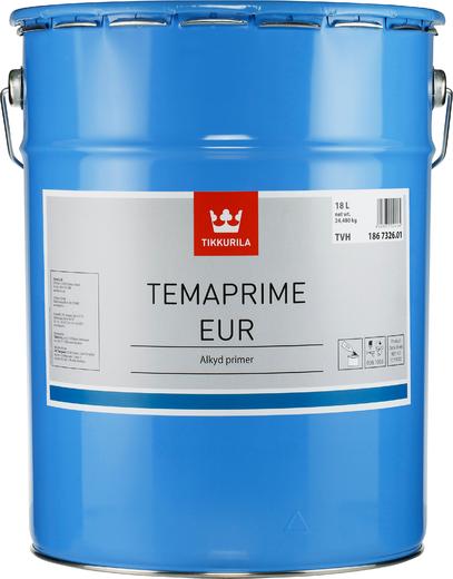 Тиккурила Темапрайм ЕУР быстровысыхающая алкидная грунтовка (20 л) серая