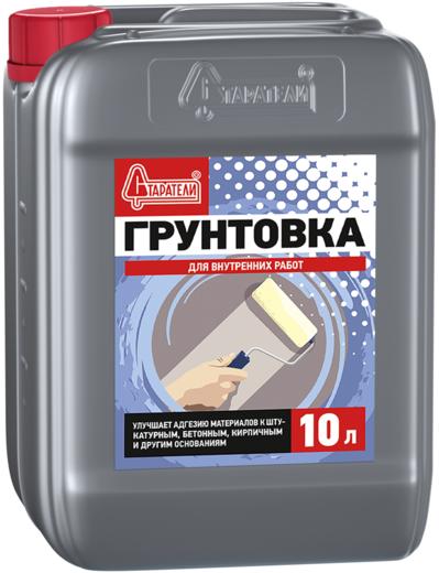 Старатели грунтовка для внутренних работ (10 л)