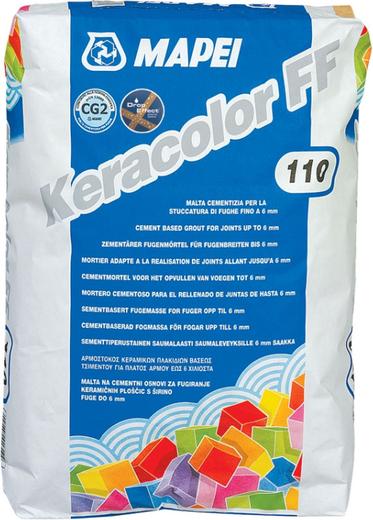 Mapei Keracolor FF затирка швов (5 кг) №100 белая