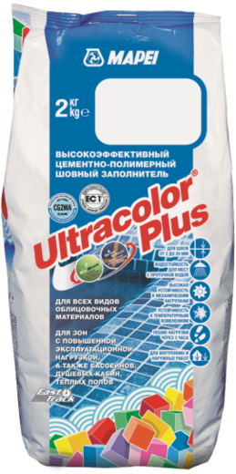 Mapei Ultracolor Plus затирка швов (2 кг) №100 белая