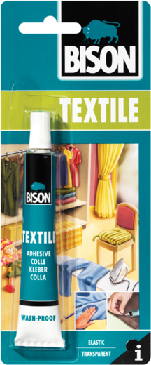 Bison Textile Adhesive клей для текстиля (25 мл)