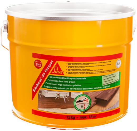 Sika Sikabond-54 Parquet эластичный клей для деревянных полов низкой вязкости (13 кг)