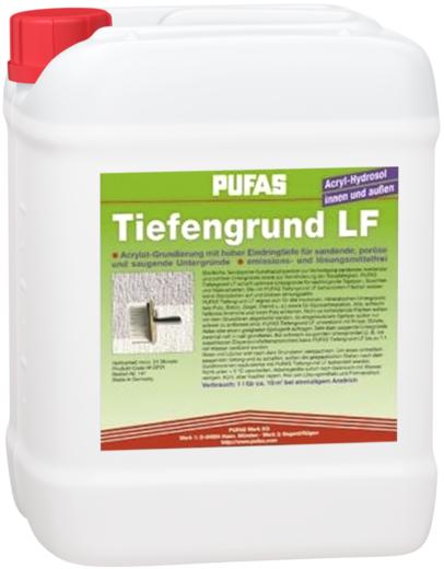Пуфас Tiefgrund LF грунтовка гидрозол-акрилат концентрат