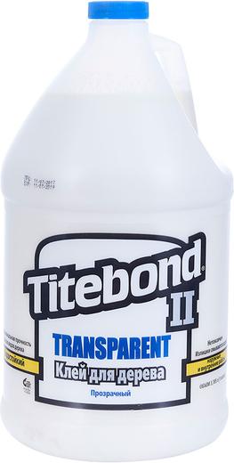 Titebond II Transparent Premium Wood Glue прозрачный влагостойкий клей для дерева (237 мл)