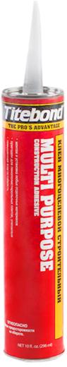Titebond Multi Purpose клей многоцелевой строительный универсальный (296 мл)