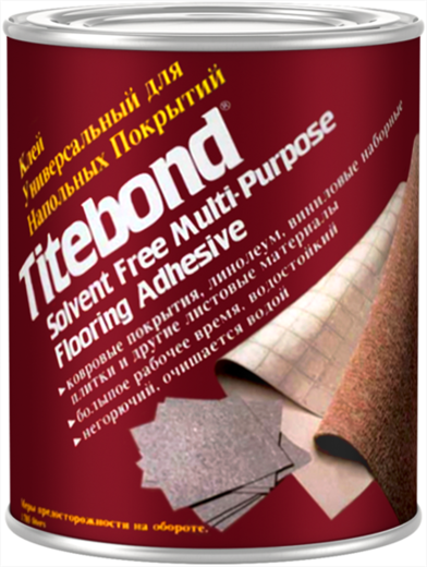 Titebond Solvent Free Multi-Purpose Flooring Adhesive клей универсальный для напольных покрытий без растворителей (19.85 кг)
