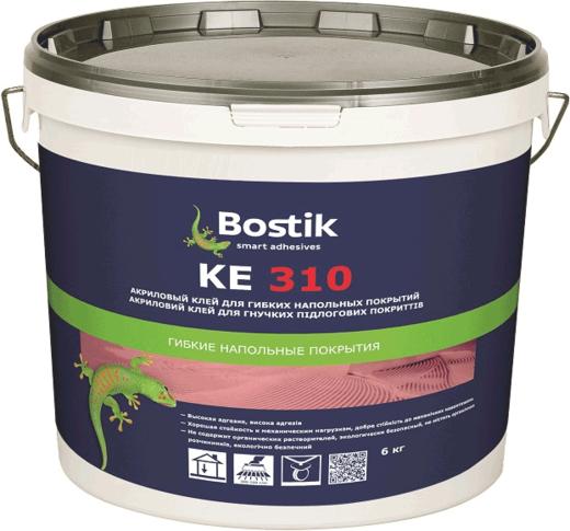 Bostik KE 310 клей для напольных покрытий экономичный (6 кг)