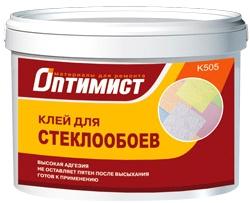 Оптимист K 505 клей для стеклообоев для внутренних работ (10 кг)