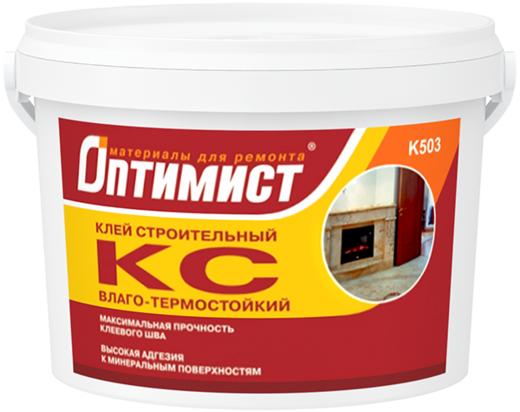 Оптимист КС K 503 клей строительный влаго-термостойкий для внутренних работ (18 кг)