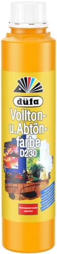 Краска Dufa Vollton und abtonfarbe d230 колеровочная 750 мл №101 желтая