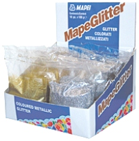 Mapeglitter для затирки 100 г серебряный