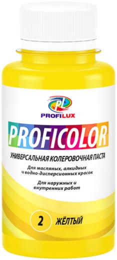 Профилюкс Proficolor универсальная колеровочная паста (100 мл) №28 охра