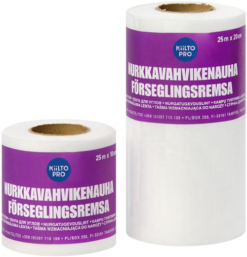 Kiilto Nurkkavahvikenauha Forseglingsremsa лента для углов