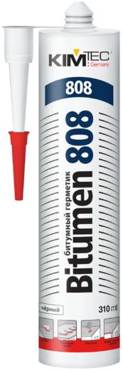 Битумный герметик Ким-Тек Bitumen 808 (310 мл) черный