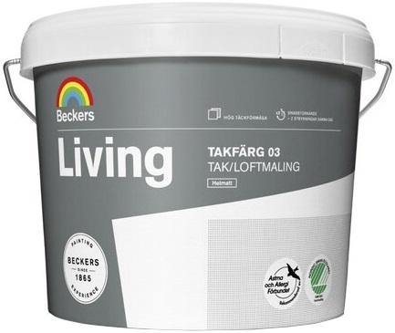 Beckers Beckerplast 3 краска для стен и потолков (10 л) белая
