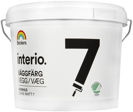 Beckers Beckerplast 7 краска для стен и потолков (9 л) белая