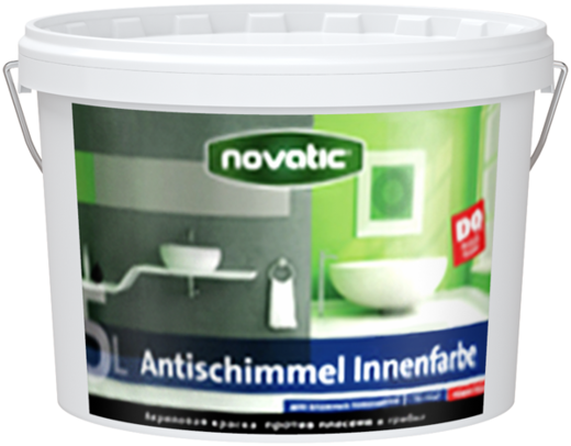 Feidal Novatic Antischimmel Innenfarbe краска против плесени и грибка