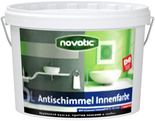 Feidal Novatic Antischimmel Innenfarbe краска против плесени и грибка (2.5 л) белоснежная