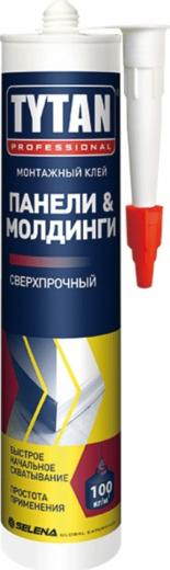 Титан Professional Панели & Молдинги монтажный клей сверхпрочный (310 мл)