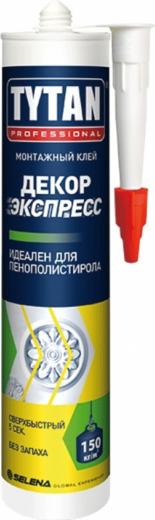 Титан Professional Декор Экспресс монтажный клей