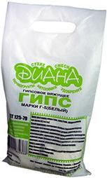 Диана Г-5 Гипсовое вяжущее гипс белый (5 кг)