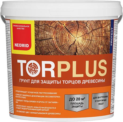 Неомид Tor Plus грунт для защиты торцов древесины (10 л)
