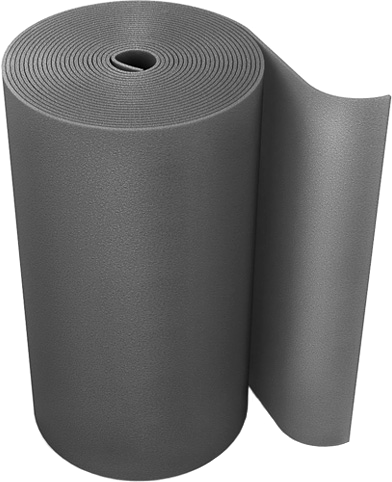 Super из вспененного полиэтилена 1*10 м/10 мм фольга алюм.
