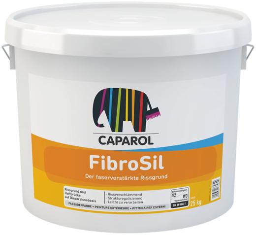 Caparol FibroSil усиленная волокнами грунтовочная краска (25 кг) белая