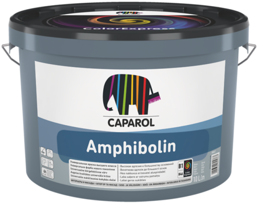 Caparol Amphibolin универсальная краска класса E.L.F. (2.5 л) белая