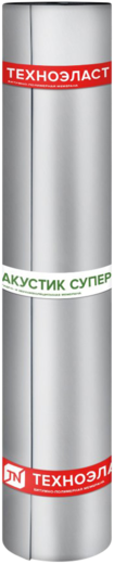 Технониколь Техноэласт Акустик Супер материал звуко-гидроизоляционный (1*10 м 2.2 кг/м2)