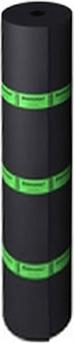 Бикроэласт гидроизоляционный кровельный 1*10 м серый