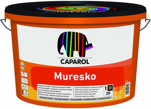 Caparol Muresko-Premium высококачественная фасадная краска на основе SilaCryl (10 л) белая