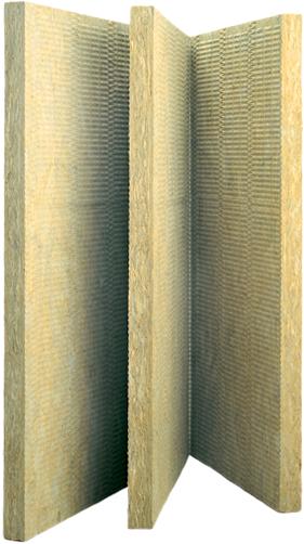 Rockwool Венти Баттс Оптима КС жесткая гидрофобизированная теплоизоляционная плита из каменной ваты