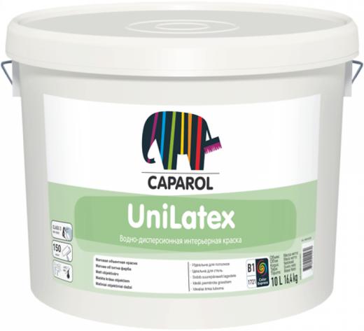 Caparol Unilatex матовая высокоукрывистая дисперсионная акрилатная краска (9.4 л) бесцветная