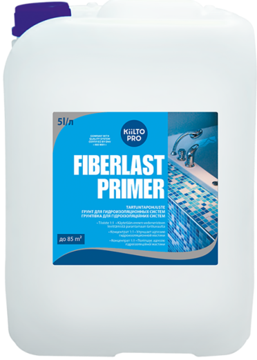 Kiilto Fiberlast Primer грунт для гидроизоляционных систем