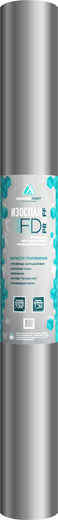 Изоспан FD отражающая гидро-пароизоляция повышенной прочности с эффектом энергосбережения