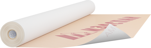 Изоспан AM гидроизоляционная ветрозащитная паропроницаемая трехслойная мембрана
