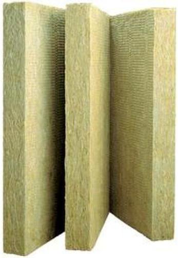 Стяжка Rockwool Руф баттс жесткая гидрофобизированная теплоизоляционная плита из каменной ваты 0.6*1 м/60 мм