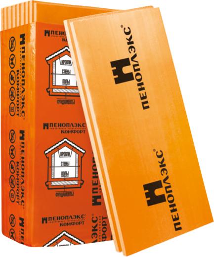 Пеноплекс 45 теплоизоляционная плита (0.6*2.4 м/50 мм)