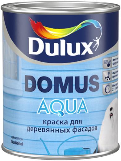 Dulux Domus Aqua краска для деревянных фасадов