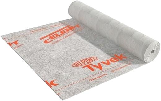 Tyvek Housewrap паропроницаемая дышащая мембрана для стен и фасадов (1.5*50 м/0.175 мм)