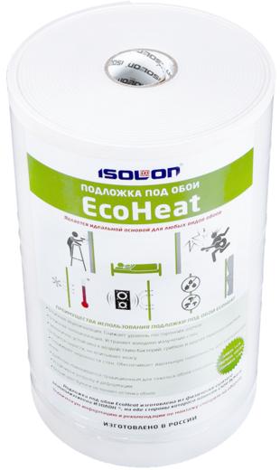 Ecoheat под обои 0.5*14 м/5 мм бумага