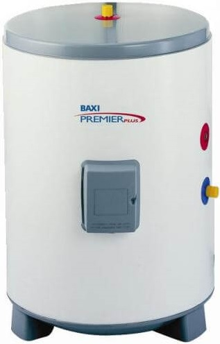 Внешний накопительный бойлер из нержавеющей стали Baxi Premier Plus 2500 внешний накопительный бойлер из нерж-ки