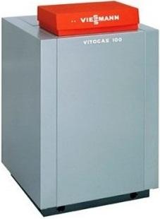 Атмосферный низкотемпературный газовый водогрейный котел Viessmann Vitogas 100-f gs1d921