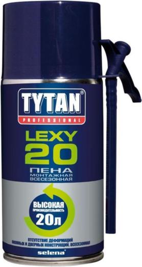 Пена Титан Professional Lеxy 20 монтажная всесезонная 300 мл ручная
