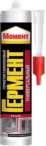 Момент Гермент герметик силиконовый универсальный (280 мл) белый