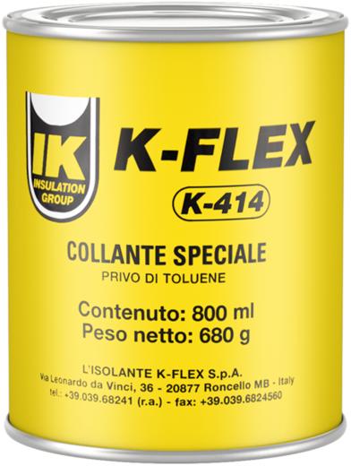 K-Flex K-414 контактный клей на основе полихлоропренового каучука (800 мл)