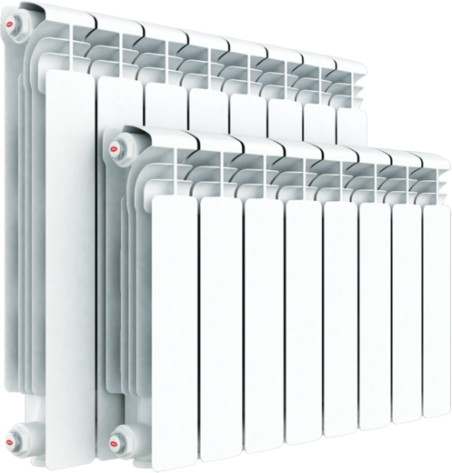 Рифар Base Ventil 500 радиатор с нижним подключением (1027 мм) слева