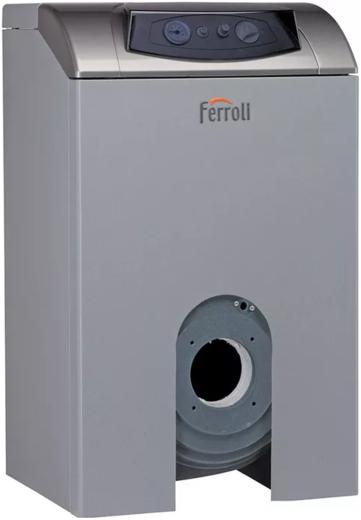 Напольный котел с чугунным теплообменником Ferroli Atlas 62 напольный котел с чугунным т/обменником
