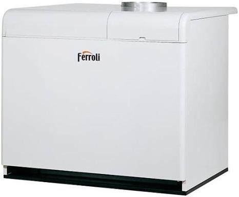 Напольный газовый котел с чугунным теплообменником с атмосферной горелкой Ferroli Pegasus F3 N 2S 187 напольный газовый котел с чугунным